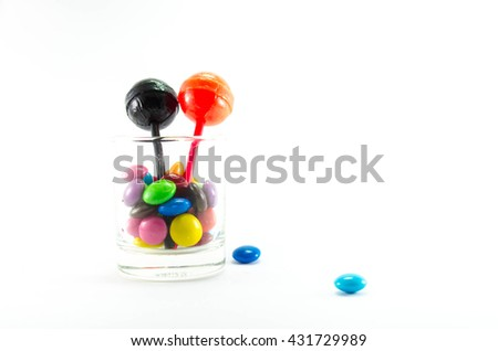 colorful candy. - stock photo