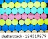 Colorful chalks as a background - stock photo