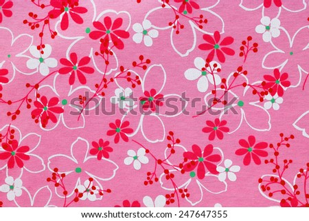 Colorful checkered table cloth texture background.