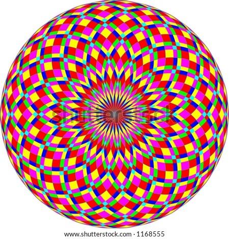 colorful circles - stock photo