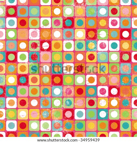 Colorful Circles and Squares