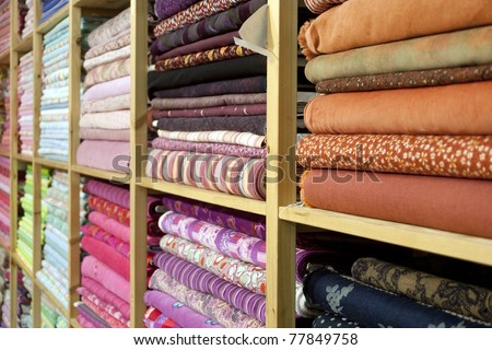 Colorful Cloth - stock photo