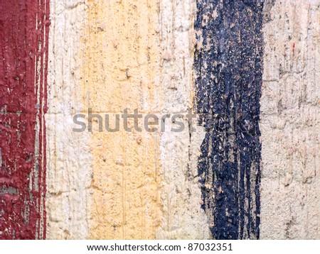Colorful concrete texture - stock photo