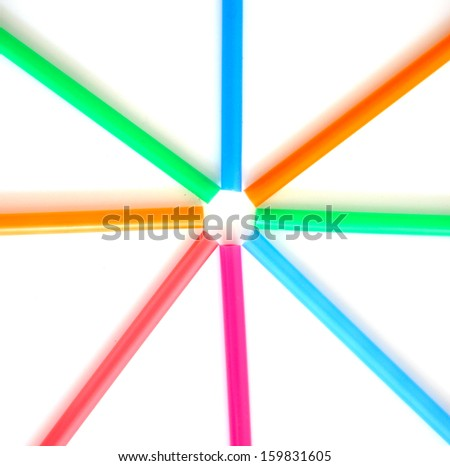Colorful creations - stock photo