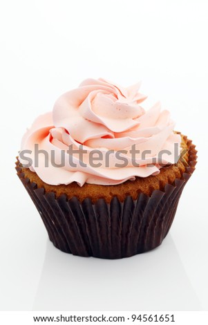 Colorful Cup Cake - stock photo