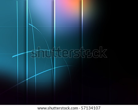 colorful dark background composition. - stock photo