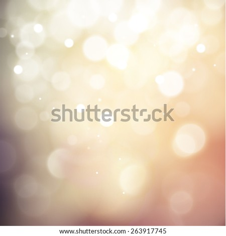 Colorful defocused lights background - raster version - stock photo