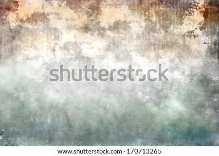Colorful designed grunge paper and wall texture, background - stock photo