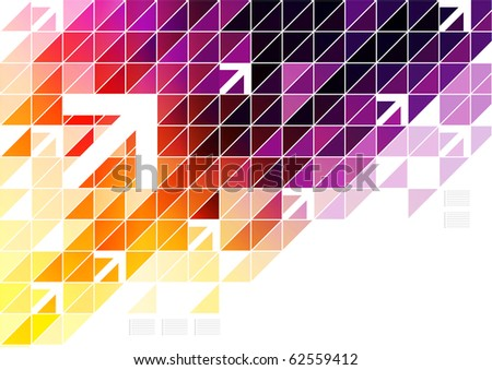 Colorful Digital Art - stock photo
