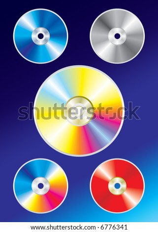 colorful disc