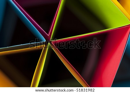 Colorful Dramatic Triangles