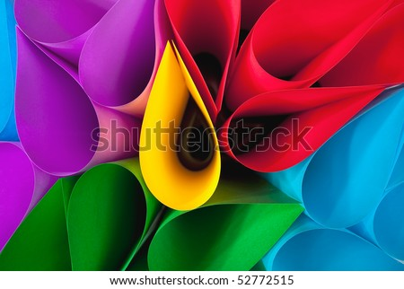 Colorful Elliptical Shapes