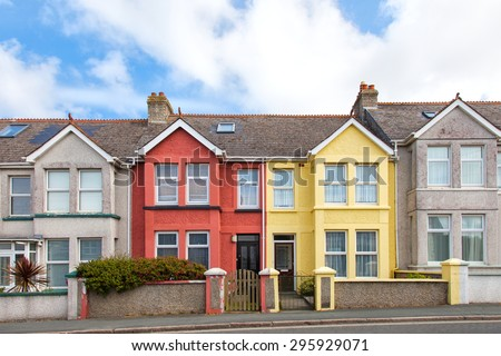 Terraced house stock photos images pictures shutterstock for Terrace house full episodes