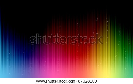 Colorful Equalizer look background - stock photo