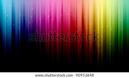 Colorful Equalizer look background, upside-down - stock photo