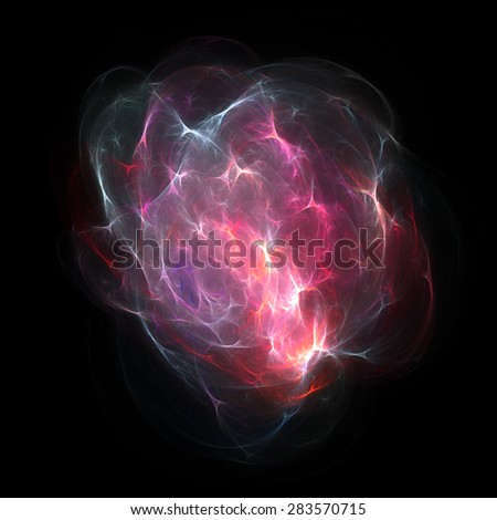 Colorful explosion, abstract design element