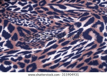 Colorful fabric background closeup picture. - stock photo