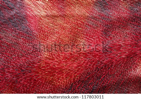 Colorful Fabric Texture - stock photo