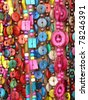 colorful feminine beads. More of this motif & more backgrounds in my port. - stock photo