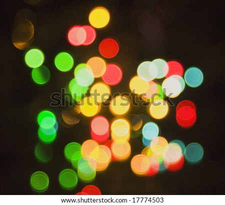 Colorful festive abstraction
