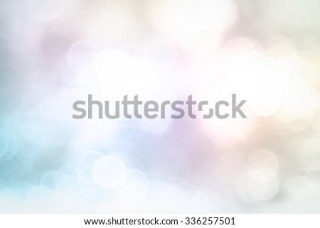 Colorful Festive Christmas background. Elegant abstract background with bokeh defocused lights. - stock photo