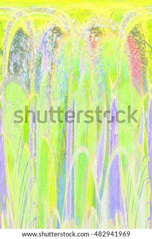 colorful fractal digital abstract background
