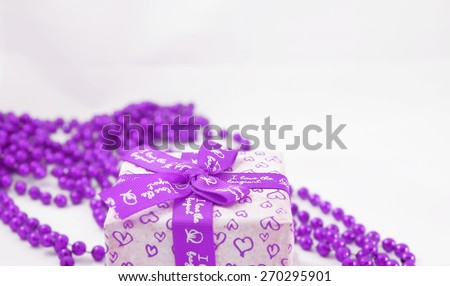 colorful gifts box - stock photo
