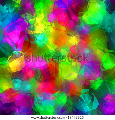 Colorful Glass Background - stock photo