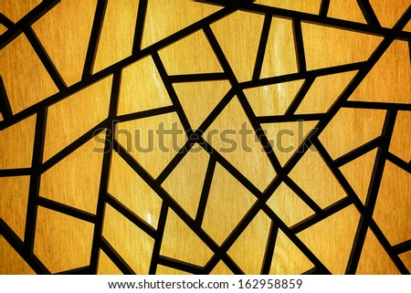Colorful glass mosaic art and abstract wall background.  - stock photo