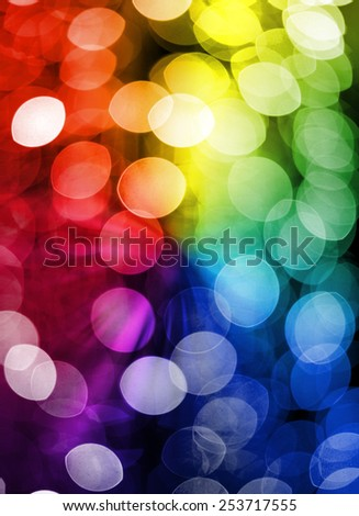 Colorful glittering abstract background - stock photo