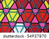 Colorful graphic background design / pattern - stock photo