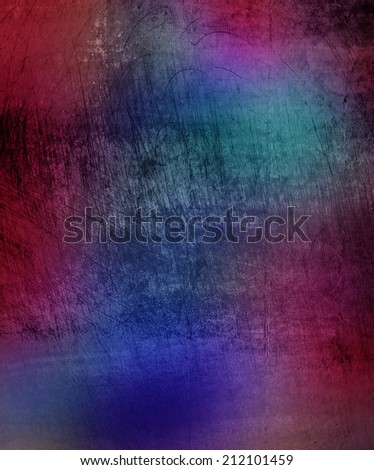 colorful grunge abstract wall background - stock photo