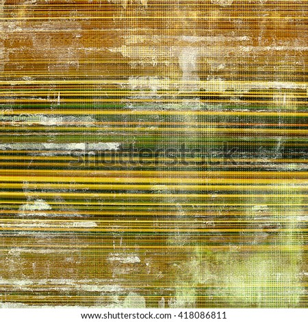 Colorful grunge background, tinted vintage style texture. With different color patterns: yellow (beige); brown; green; gray; white - stock photo