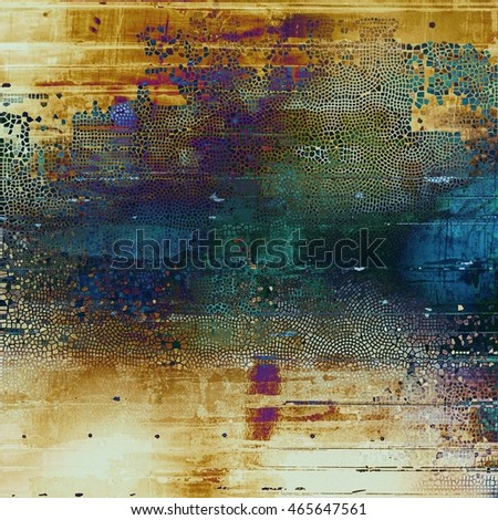 Colorful grunge background, tinted vintage style texture. With different color patterns: yellow (beige); brown; green; blue; purple (violet); white