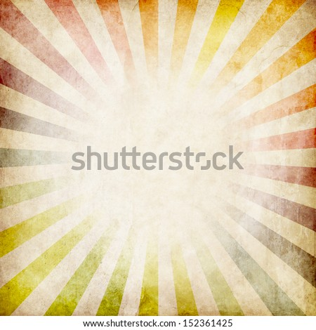 colorful grunge rays background - stock photo