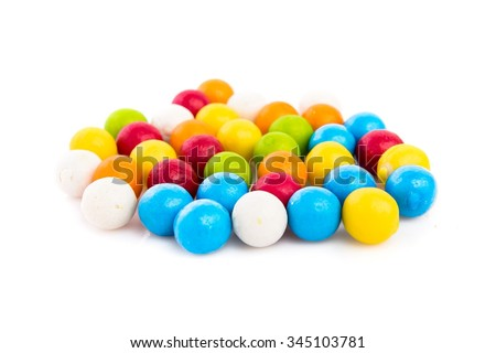 Colorful Gumballs - stock photo