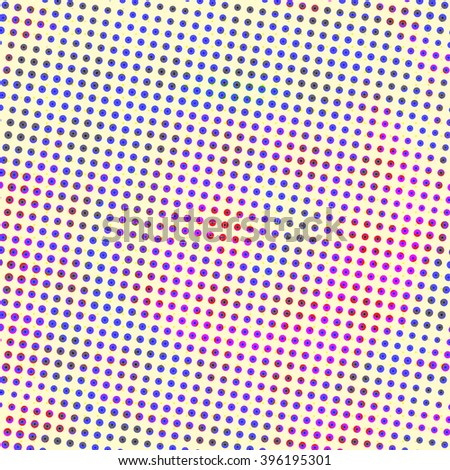 colorful  halftone  background - stock photo