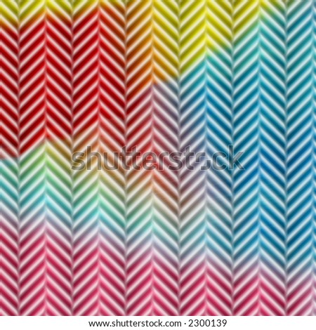 Colorful herringbone patterned abstract image for backgrounds or wallpaper.