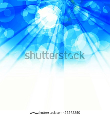 Colorful Holiday Lights - stock photo