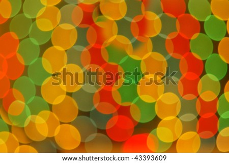 colorful holiday lights background