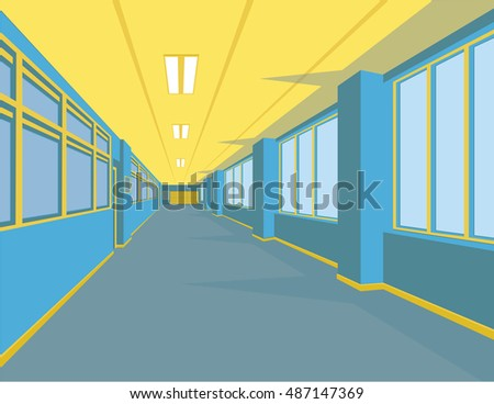 Corridor Flat Stock Images, Royalty-Free Images & Vectors ...