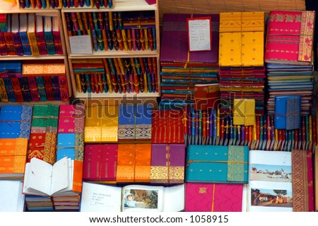 Colorful Journals - stock photo
