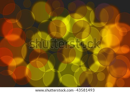 Colorful Light twinkle - works great as a background. - stock photo