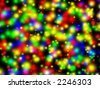 Colorful Lighted Background - stock photo