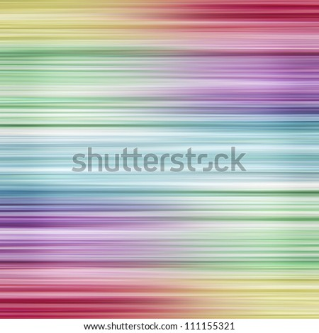 Colorful linear rainbow design background with copy space. - stock photo