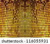 Colorful, luxurious, golden sequins background. More of this motif and more backgrounds in my port. - stock photo
