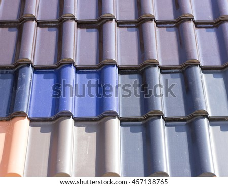 colorful metal can be used for advertising  backround