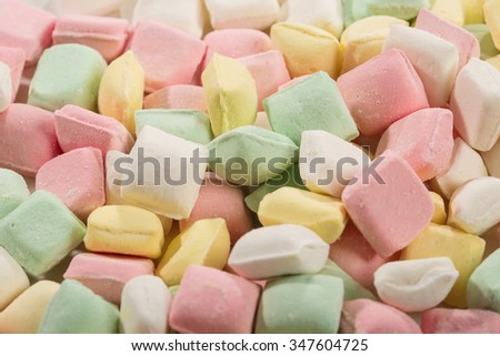 colorful mint candy - stock photo
