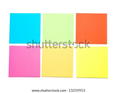 Colorful Note Set
