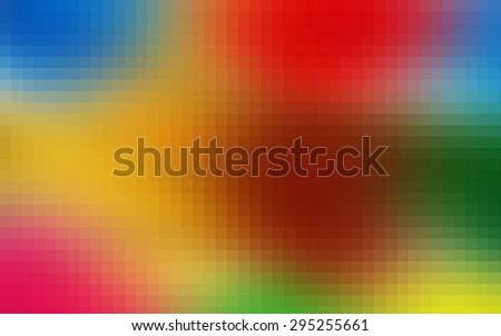 colorful  of abstract mosaic background